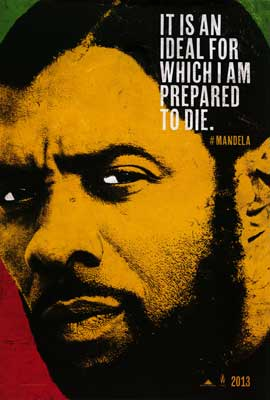 Mandela, Long Walk to Freedom, movie, poster, Idris Elba