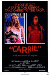 Carrie, poster, Spacek, Nancy Allen, Betty Buckley, Twitter, tweet