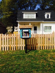 Little Free Library, Decatur, Atlanta, Georgia, books, reading, map, locations, where can I find a free library, free books