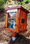 Little Free Library, Atlanta, books, reading, free, Piedmont Park, Longfellow, Millie Brown, an educator