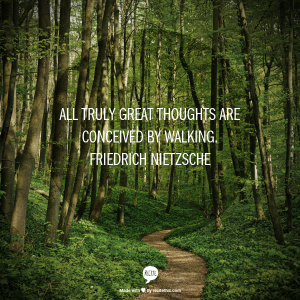 Does Exercise Make You More Creative? Go Take a Walk and Let Us Know!