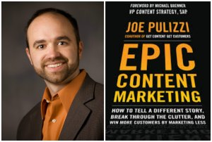 Joe Pulizzi, Epic Content Marketing, storytelling, brand journalism, expert, Jay Croft, Atlanta, storycroft, public relations, corporate communications