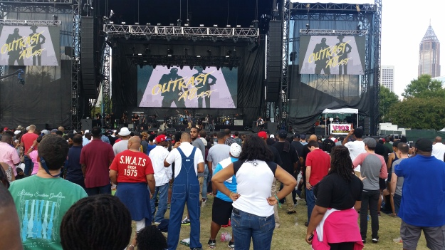 OutKast, Atlanta, Centennial Olympic Park, downtown, reunion, Sonia Murray