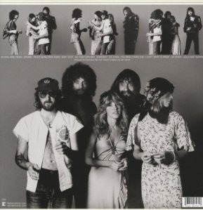 "The back cover of ""Rumours"""
