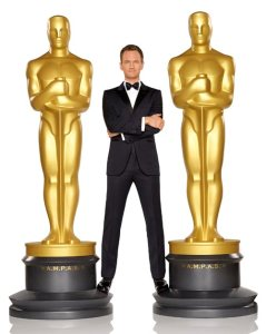 Host Neil Patrick Harris is set.