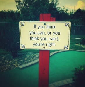 instagram, inspirational quote, putt-putt, cliche