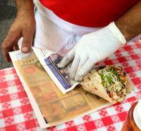 Hector Santiago, El Burro Pollo, Pura Vida, latin food, restaurant, latin restaurant, latin eatery, burrito, chicken burrito, Atlanta, street food, fair, market, Ponce City Market,