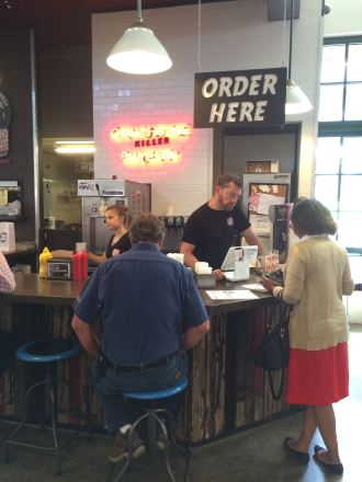Atlanta Curbside Market, curb market, Grindhouse burgers