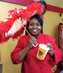 Atlanta Curb Market, Municipal Market, soul food, Miss D's, praline, popcorn, soul food